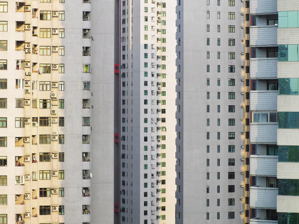 Fotoprojekt für eine Bildagentur, Urbaner Raum Shanghai